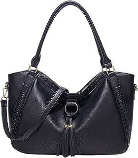 women's handbags & shoulder bags, women's crossbody handbags,PU Leather Women Solid Color Shoulder Messenger Bag,Large cap...