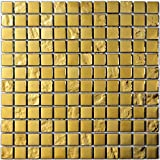 Decostyle DEC-47082ABC113 Mosaico Decorativo, Oro, 8...