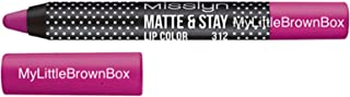 Misslyn Matte and Stay Lip Color No. 312, Pink