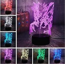 LED-nachtlampjes 3D illusie nachtkastje lamp 38 kleuren veranderende slapen verlichting Smart Touch Button verjaardagscade...