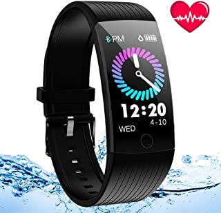 ANSGEC Fitness Tracker, Activity Tracker Watch with Heart...