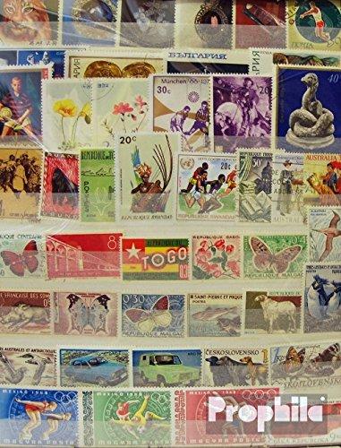 Prophila Collection Tutto Mondo 2.500 Diversi Francobolli (Francobolli per i Collezionisti)