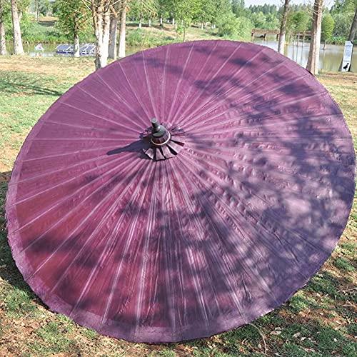 ELLENS Sombrilla de jardín Sombrilla de Patio 2M, protección UV, sombrilla de jardín compacta para Exterior, terraza, Piscina