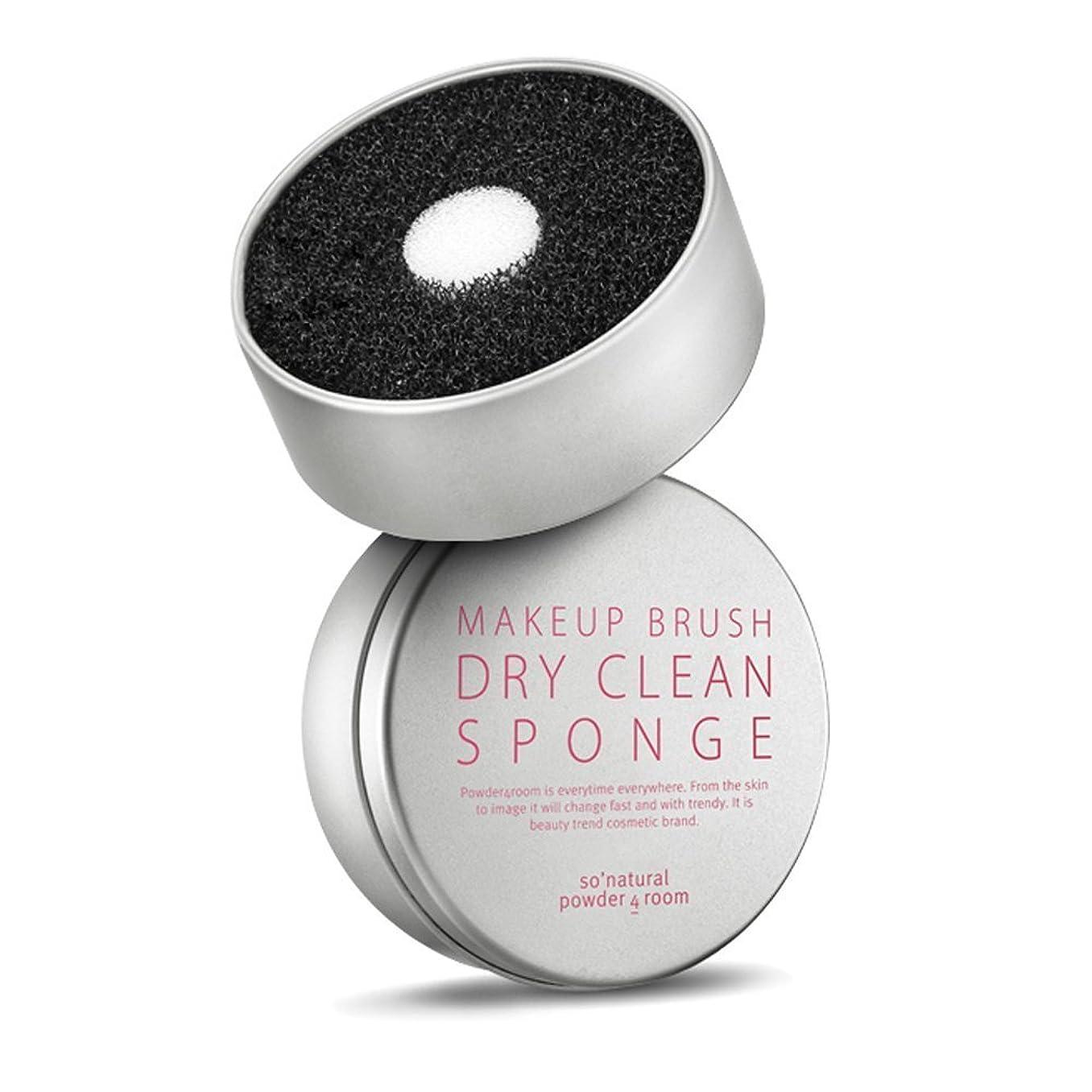 委任滅びる流暢ソーナチュラル So Natural ドライブラシクリーンスポンジ Dry Clean Sponge 水が必要ないブラシクリーナスポンジ [並行輸入品]