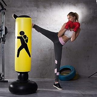 WDV Torba bokserska fitness torba bokserska trening kopania nadmuchiwana torba wieżowa wolnostojąca szklanka kolumna worek...