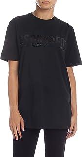 DSQUARED2 Women's S75GD0035S22427900 Black Cotton T-Shirt