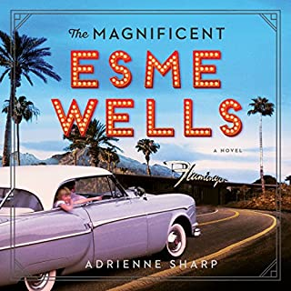 The Magnificent Esme Wells audiobook cover art