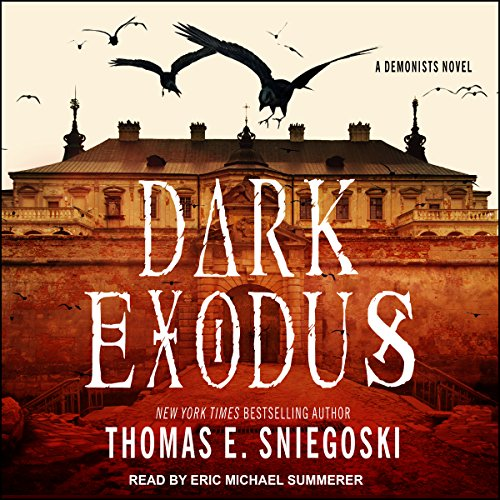 Dark Exodus audiobook cover art