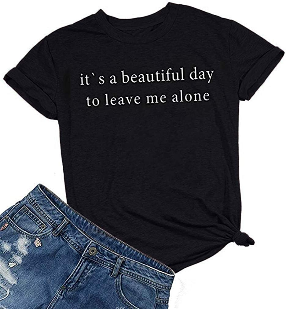 Vanbuy Too Blessed Shirt for Women Short Sleeve Letter Print Tee Summer Tops Tshirt with Sayings