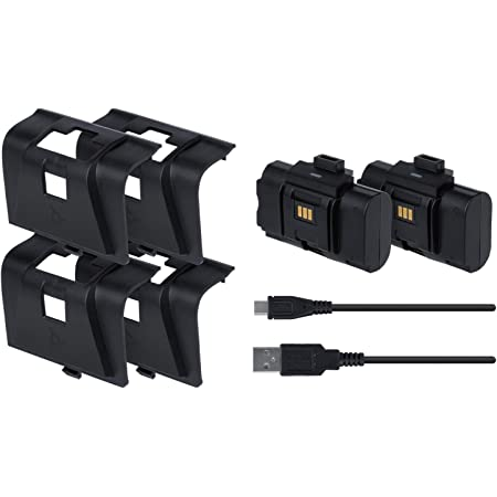 PDP Gaming Play and Charge Kit Charging System: Black - Xbox Series X S, Xbox One, Xbox