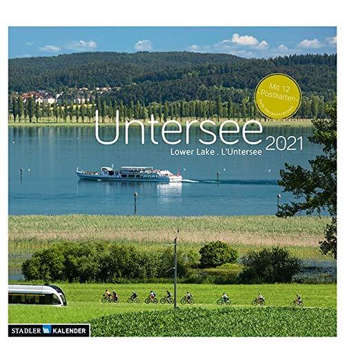 Untersee 2021: Postkarten-Tischkalender