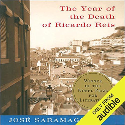 The Year of the Death of Ricardo Reis audiobook cover art