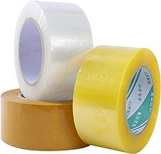 Hoge Viscositeit Duidelijke Scotch Tape Verzegelende Verpakking Tape Karton Doos Tape Verpakking Transparante Montage Tape...