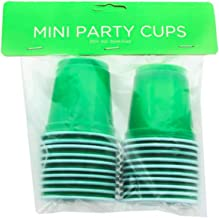 Disposable Shot Cups - Mini Cups (2 Oz) Unique Green Solo Party Shooters - Jello Shots - Jager Bombs - Beer Pong Cups - St...