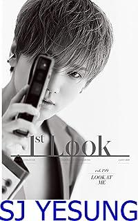 表紙:SJ YESUNG/1ST LOOK 199号2020【4点構成】/韓国雑誌/1STLOOK 199号/韓国歌手/k-pop/K-POP/SUPER JUNIORイェソン/イ・ジョンヒョン/AB6IX PARK WOO JIN&LEE D...