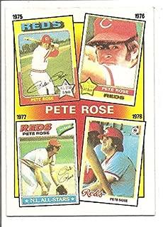 Pete Rose Philadelphia Phillies / Cincinnati Reds 1986 Topps The Pete Rose Years Baseball Card #5