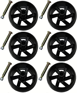 Compatible Deck Wheel Kit Replacement for 532174873, 174873, 133957, 193406 (6-Pack)