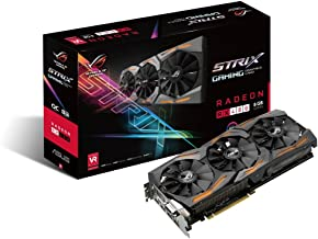 ASUS ROG STRIX Radeon Rx 480 8GB DP 1.4 HDMI 2.0 Polaris Vr Ready Graphics Cards