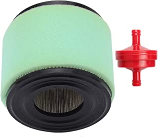 Trustsheer 393957S 393957 Air Filter with pre Filter Fuel Filter for Briggs & Stratton 270782 271794S 390930 4106 7-18 HP Horizontal Engines John Deere PT9334 LG393957S LG393957 PT4301