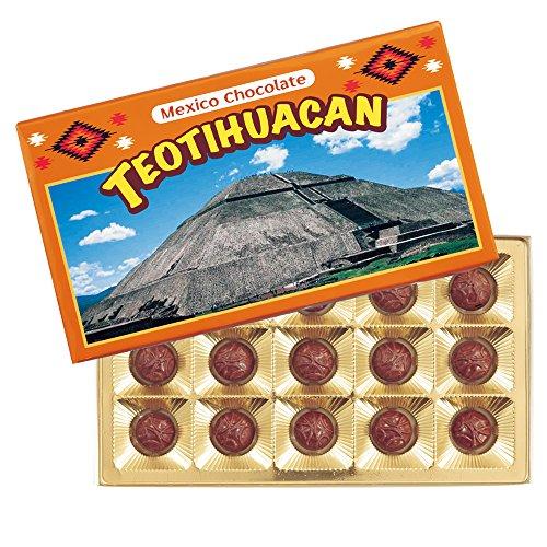 メキシコ ティオティワカン マカデミアナッツ チョコレート 6箱セット【メキシコ おみやげ(お土産) 輸入食品 スイーツ】