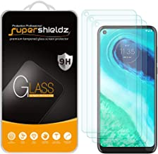 (3 Pack) Supershieldz for Motorola Moto G Fast Tempered Glass Screen Protector, 0.33mm, Anti Scratch, Bubble Free