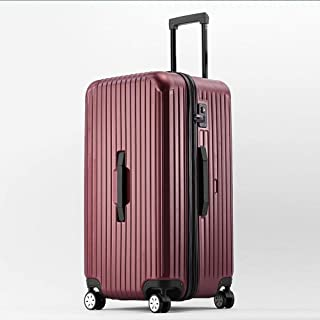 360 Degree Mute Caster Luggage Travel Trolley case Purple
