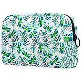 Lavado bolsa de cosméticos impermeable, bolsa de cosméticos para hombres y mujeres,Husillo negro dibujado a mano abstracto