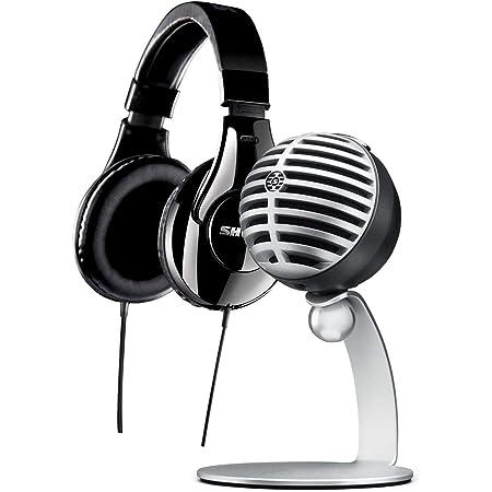 Shure MV5/A Condenser Microphone and SRH240A Headphones