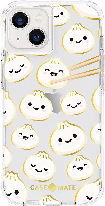 Case-Mate - Tough Prints - Case for iPhone 13 - Gold Foil Accents - 10 ft. Drop Protection - 6.1 Inch - Cute as a Dumpling