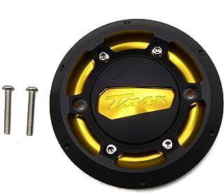 YIBO 新しいオートバイTMAXエンジンステータカバーCNCエンジン保護カバープロテクターヤマハT-max 530 2012-2015 TMAX 500 2008-2011 (ゴールド)