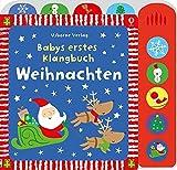 Babys erstes Klangbuch: Weihnachten: ab 10 Monaten - Fiona Watt
