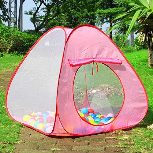 ZHEBEI Plegable interior y exterior de la casa de juegos de tres capas de gasa espaciosa tienda de campaña de la piscina de la tienda