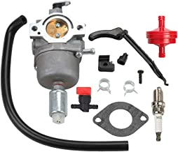 Allong Carburetor for Briggs Stratton 594593 698620 799727 794572 791858 792358 793224 697190 697141 698445 699109 699937 14hp 15hp 16hp 17hp 17.5 HP 18hp Craftsman Lawn Mower Tractor Tune-Up Kit