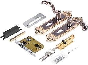 Deurslot Deurhandvat Lock Style Retro Aluminium Legering Vintage Interieur Slaapkamer Lock Anti-diefstal Home Room Safety ...