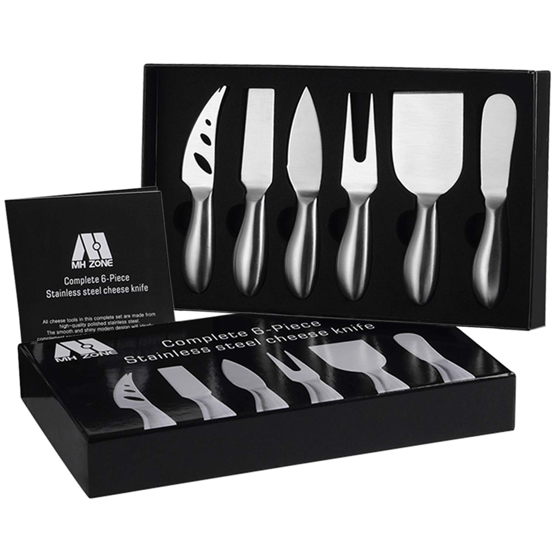 Premium 6 Piece Cheese Knife Set