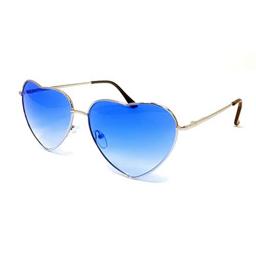 ec432e951f Metal Frame Heart Shaped Sunglasses