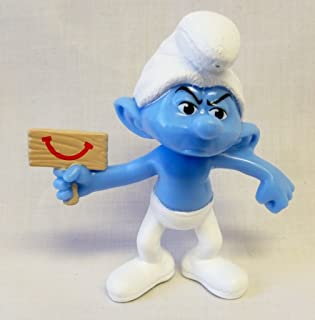 Happy Meal Toys McDonalds - The Smurfs 2 2013 Grouchy #6