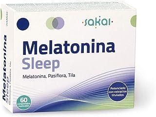 comprar comparacion Sakai - Melatonina Sleep, 60 comprimidos masticables. Conciliación rápida del Sueño con efecto Duradero. Melatonina, Pasif...