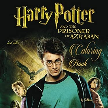 #3 Coloring Book Harry Potter and the Prisoner of Azkaban: best seller, stress relief, serenity and relaxation, 100pgs