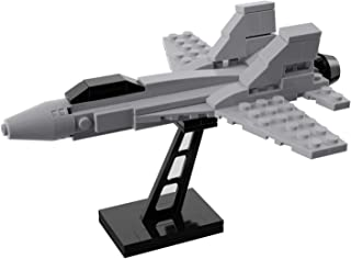 Mini F-18 Fighter Jet Model Military Building Set