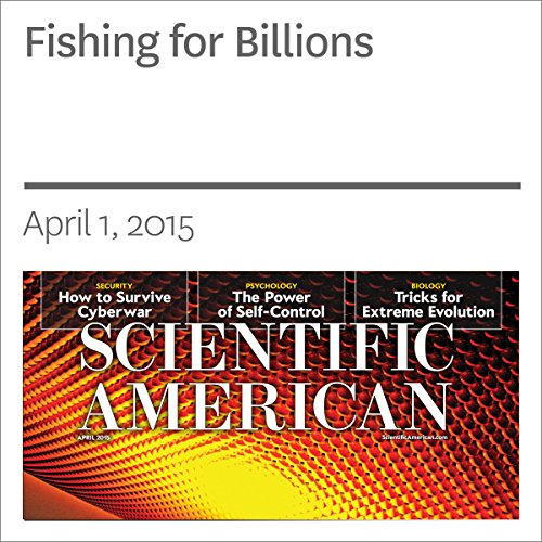 Fishing for Billions audiobook cover art
