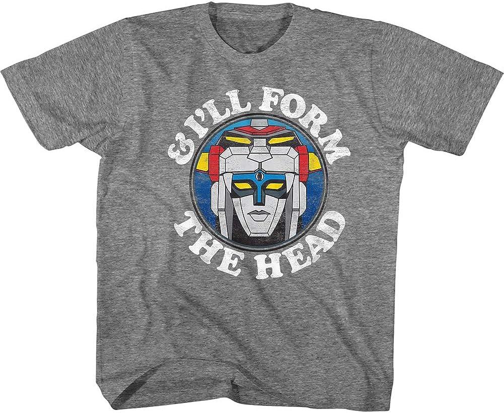 Voltron TV Cartoon I'll Form The Head Toddler Short Sleeve T-Shirt Graphic Tee