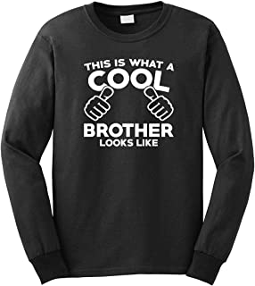 This is What A Cool Brother Looks Like Men's Long Sleeve Shirt