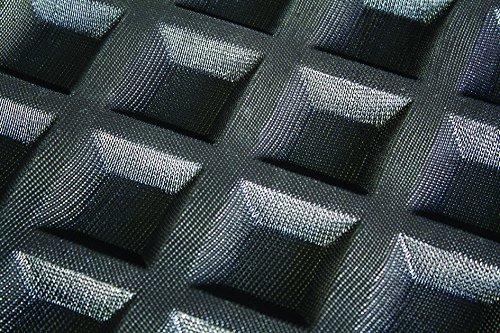 Silform Tartelettes Carrées professionnelles 600 x 400 mm, à 60 Empreintes L 45 x lg 45 x H 12 mm