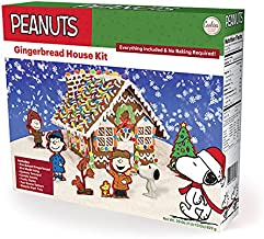 Peanuts Snoopy Gingerbread House Kit