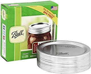 Ball Regular Mouth Jar Lids 4 pack