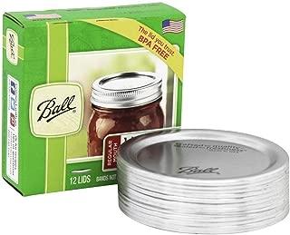 Ball Regular Mouth Jar Lids 4 pack