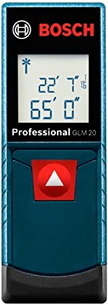 Trena à Laser GLM20, Bosch 0601072EG0-000, Azul