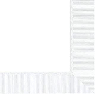 Frosty White 3-Ply Paper Beverage Napkins | Party Tableware, 12 Pks