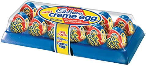 Cadbury Easter Mini Crème Egg, 12-Count Containers (Pack of 4)